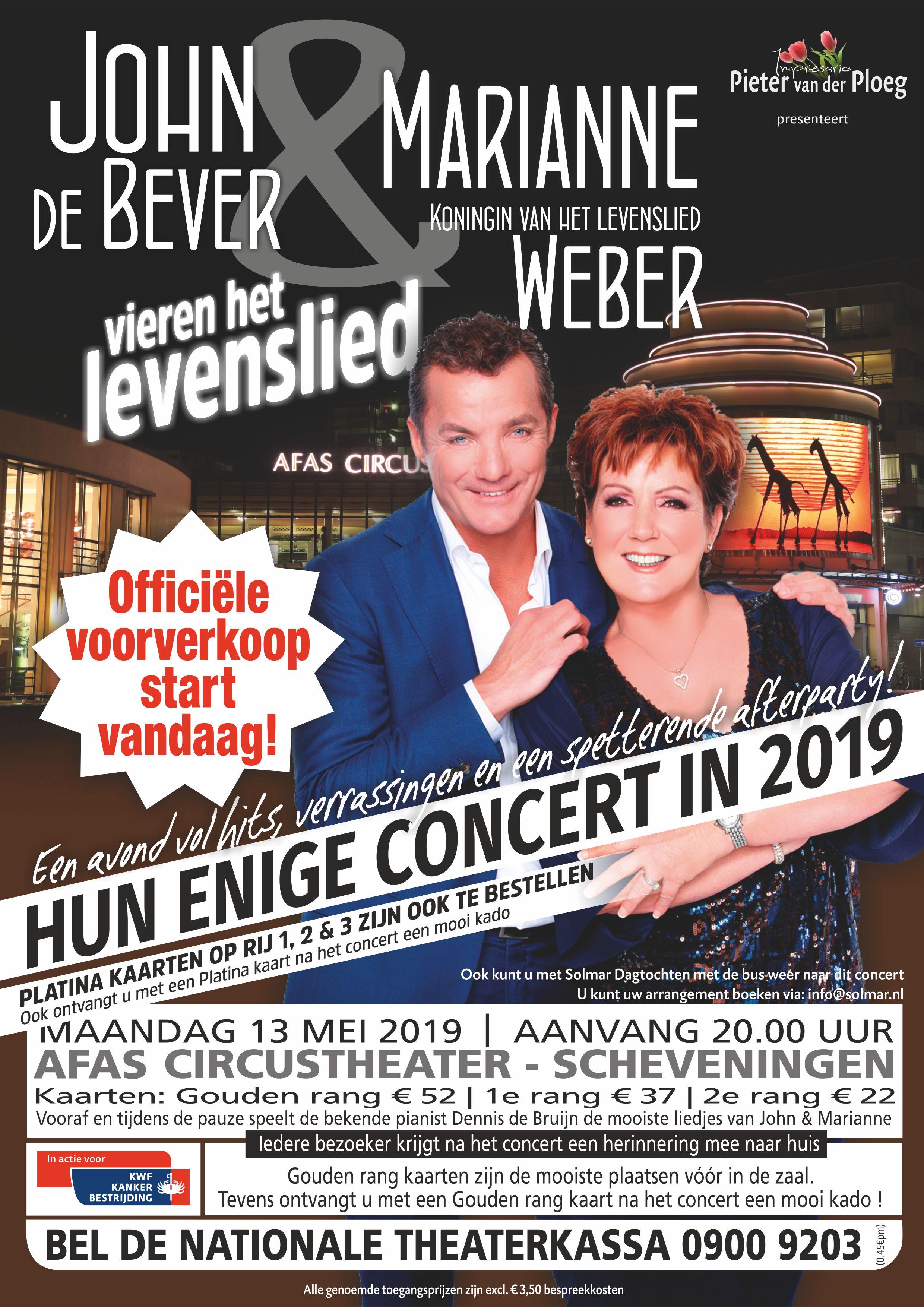 concert john de bever 2018