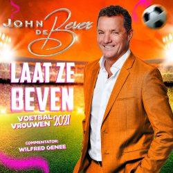 John de Bever - Laat Ze Beven - Voetbal Vrouwen 2021